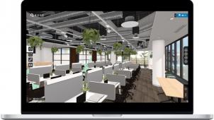 クラウド型VR内覧「ROOV walk」がオフィス領域で活用拡大