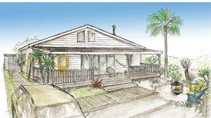 LIFE LABEL初の平屋住宅 カリフォルニア工務店と開発スタート