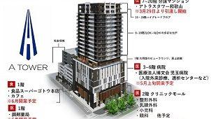 旭化成、JR和歌山駅前に再開発マンション98戸