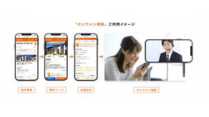 LIFULL、不動産売買でオンライン相談が可能な物件情報を提供