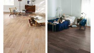 朝日ウッドテック、無垢オーク挽き板床材に新色