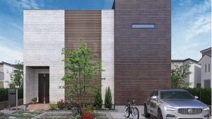 桧家住宅、間取り・外観選べる企画型住宅に中庭プラン追加