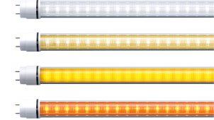 設計寿命5万時間の40形直管LEDを発売