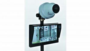 テスコム、入り口で体温を自動測定するカメラシステム
