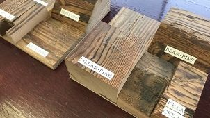 古民家の木材を素材として世界に発信 マテリアルライブラリーにて展示スタート