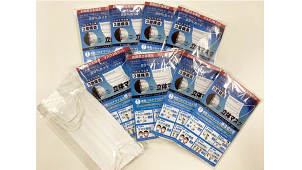 メッドコミュニケーションズ、顧客へ備蓄マスクを配布