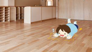 朝日ウッドテック、転倒時の衝撃を吸収する床材発売