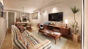 三菱地所ホーム、セミオーダー住宅にACMEの家具付きシリーズ