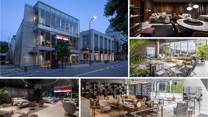 伊家具のFLEXFORM TOKYOが南青山に移転開業