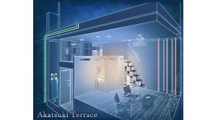 シノケン、アパートブランド「Akatsuki Terrace」発売