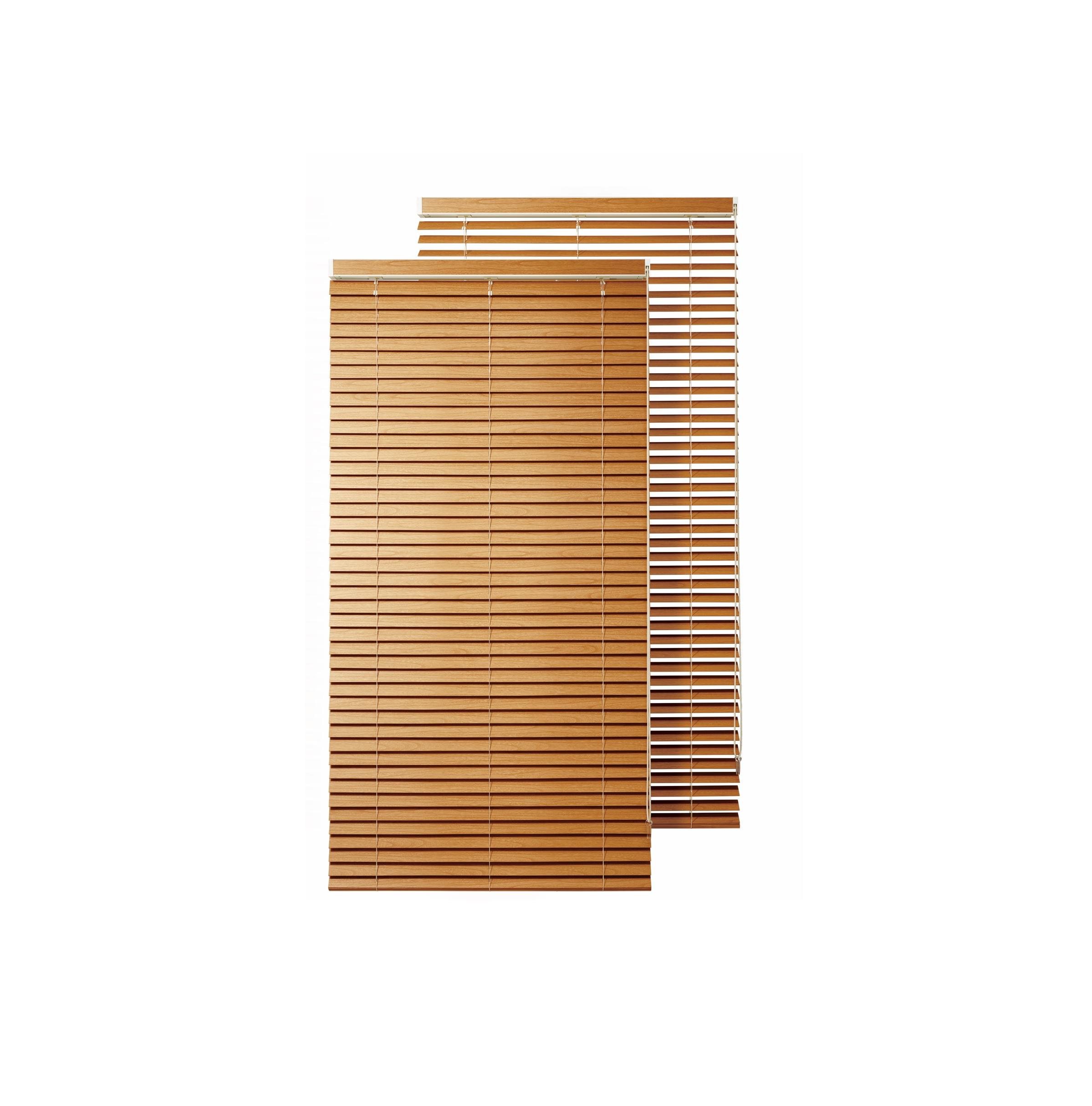 ナニックジャパン、求めやすい価格の桐製ブラインド