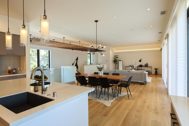 米HOMMA社の住宅にサンワカンパニーの建材設備採用