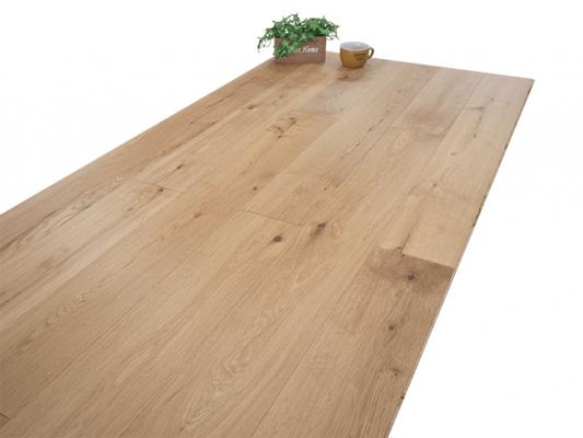 クギ不要、短時間で施工できるオーク床材を発売