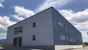 クリエイト礼文初の大型建築 サッカーJ2クラブハウス竣工