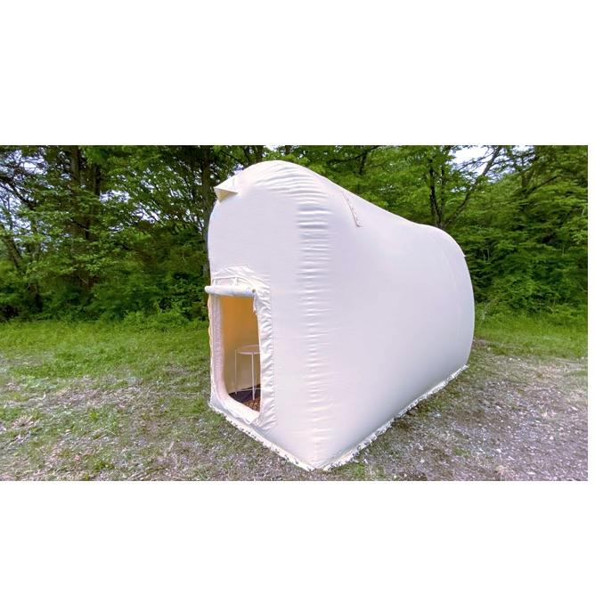 LIFULL、避難所で使える1人用宿泊スペースを発売