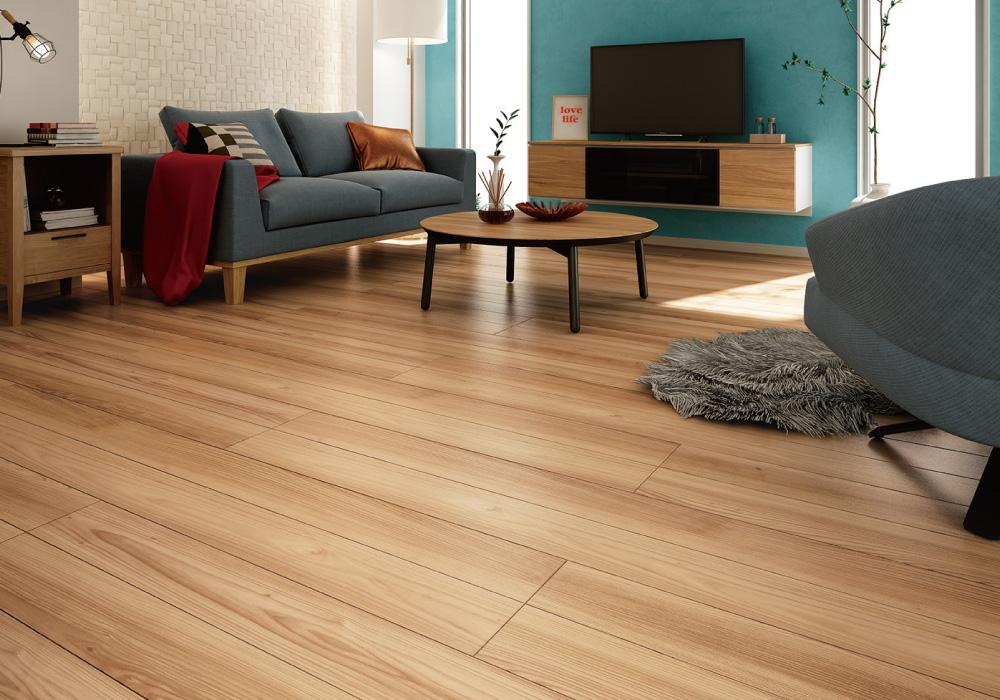 大建工業、内装建材「ハピア」に銘木柄の床・階段追加