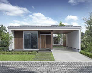 フィアスホーム、屋内外を快適につなぐ平屋住宅を発売