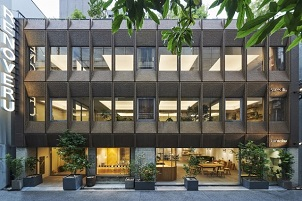 リノべる、築49年オフィスビルを複合型シェアスペースに