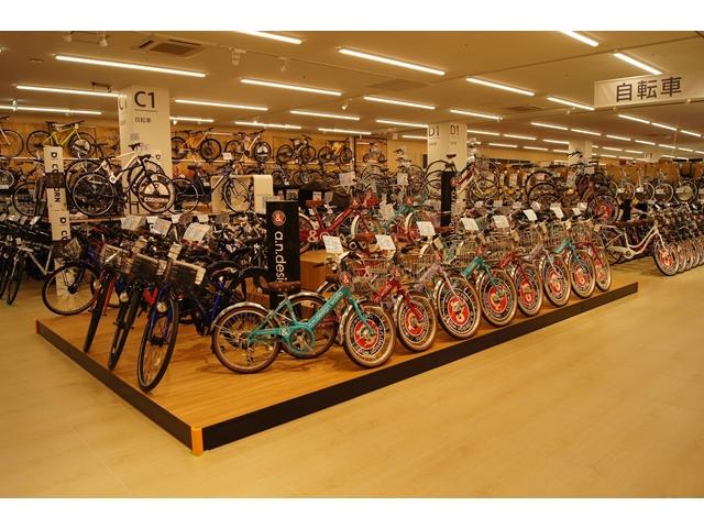 ロイヤルホームセンター、戸田新店舗に同社最大自転車売場
