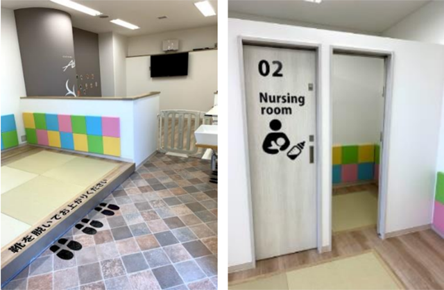 アイフルホーム、スタジアムにキッズデザイン採用の授乳室