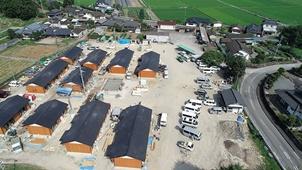 全木協が7月豪雨被災地の熊本で 木造の応急仮設住宅500戸超を整備