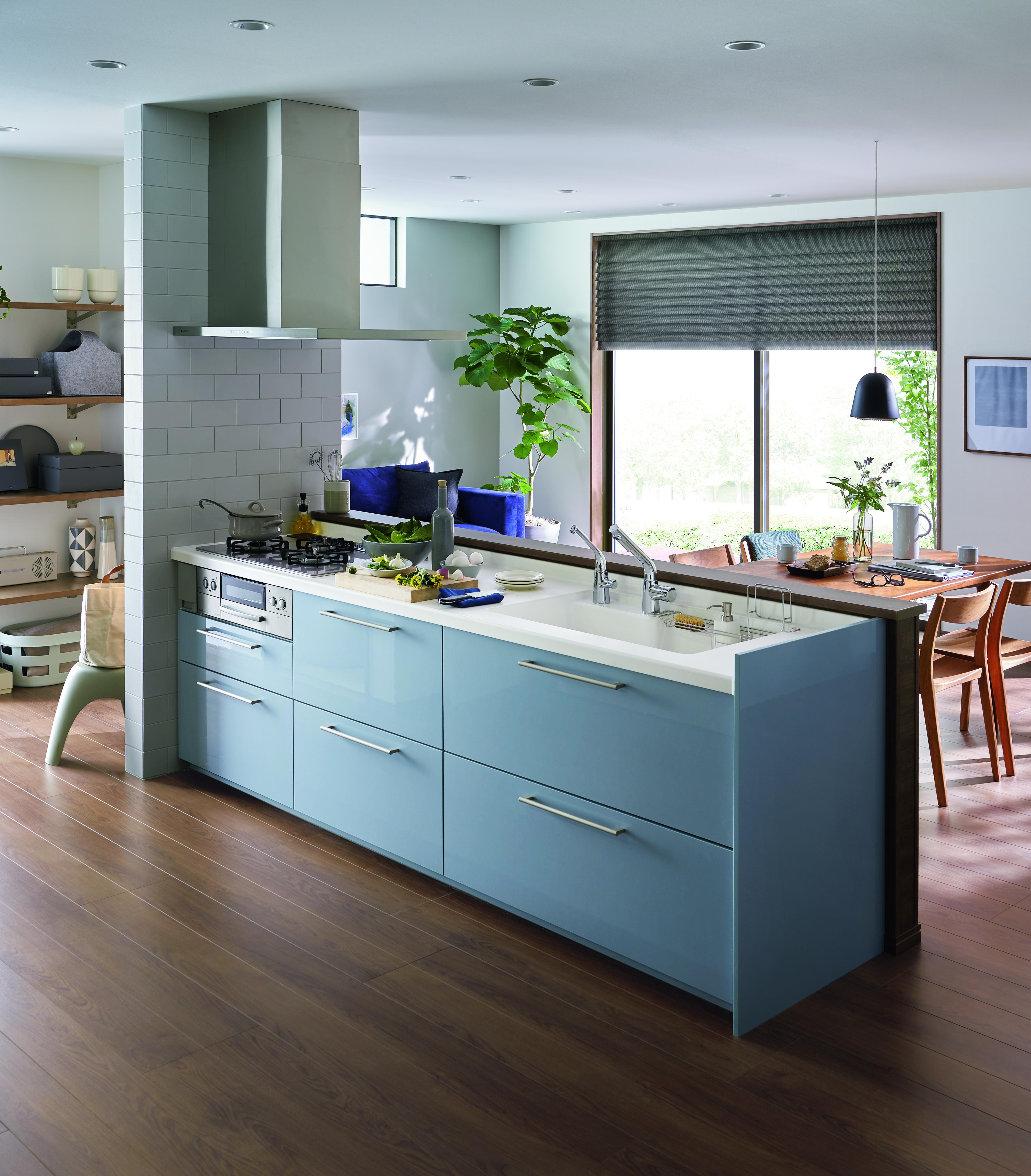 TOTO、システムキッチン「ミッテ」の手入れ性を向上