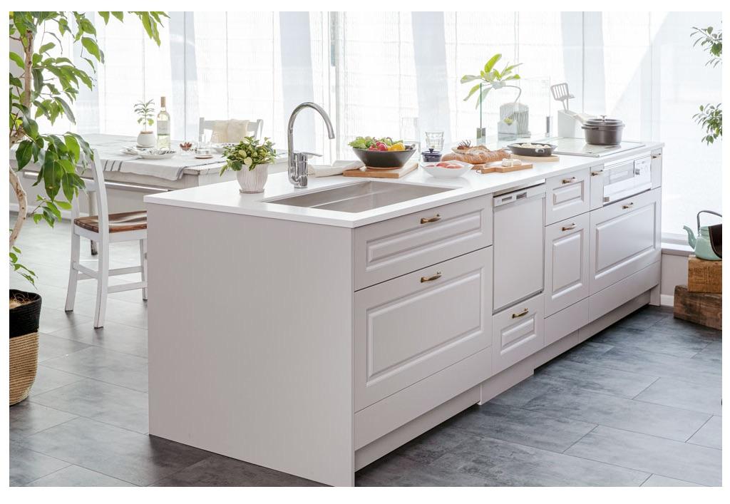 ナガイ、デザイン+コスパにこだわったキッチン発売