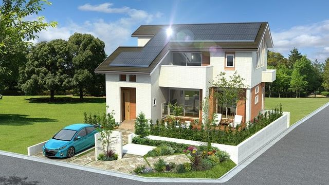 ヤマト住建、エコカーから電気供給できるモデルハウス