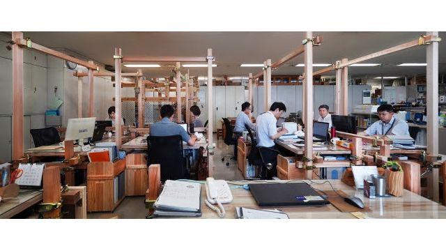 日建設計、徳島県庁に「変幻自在の木質ユニット」設置