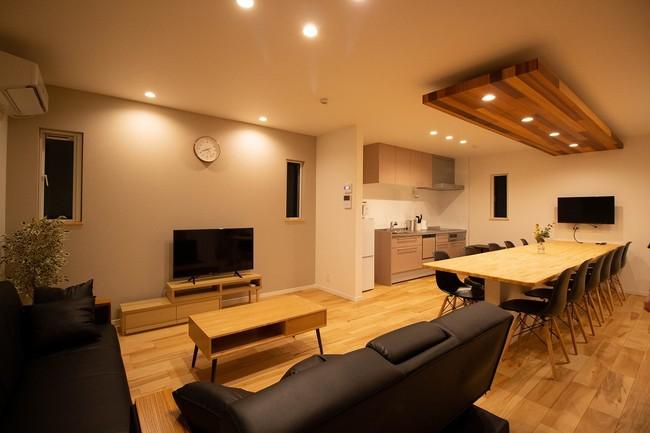 楓工務店、木津川市に2棟目の一棟貸し民泊 ワーケーション利用も想定