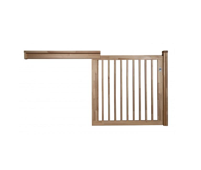阿部興業、幼保施設向け木製ベビーフェンスを発売