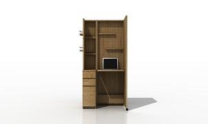 プロジェクト第一弾「テレワーク家具」を発表