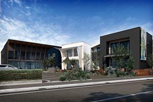 大型パネル採用したモデルハウスを3棟同時に上棟 標準化で棟数拡大しながら大工の年収アップ目指す -Standard[静岡県沼津市]