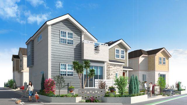 中央住宅、東京・東村山に新築分譲 多用途な庭やワークスペース設置