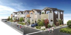 中央住宅、春日部に新築分譲 木の風合い、コンパクト動線など家族時間充実