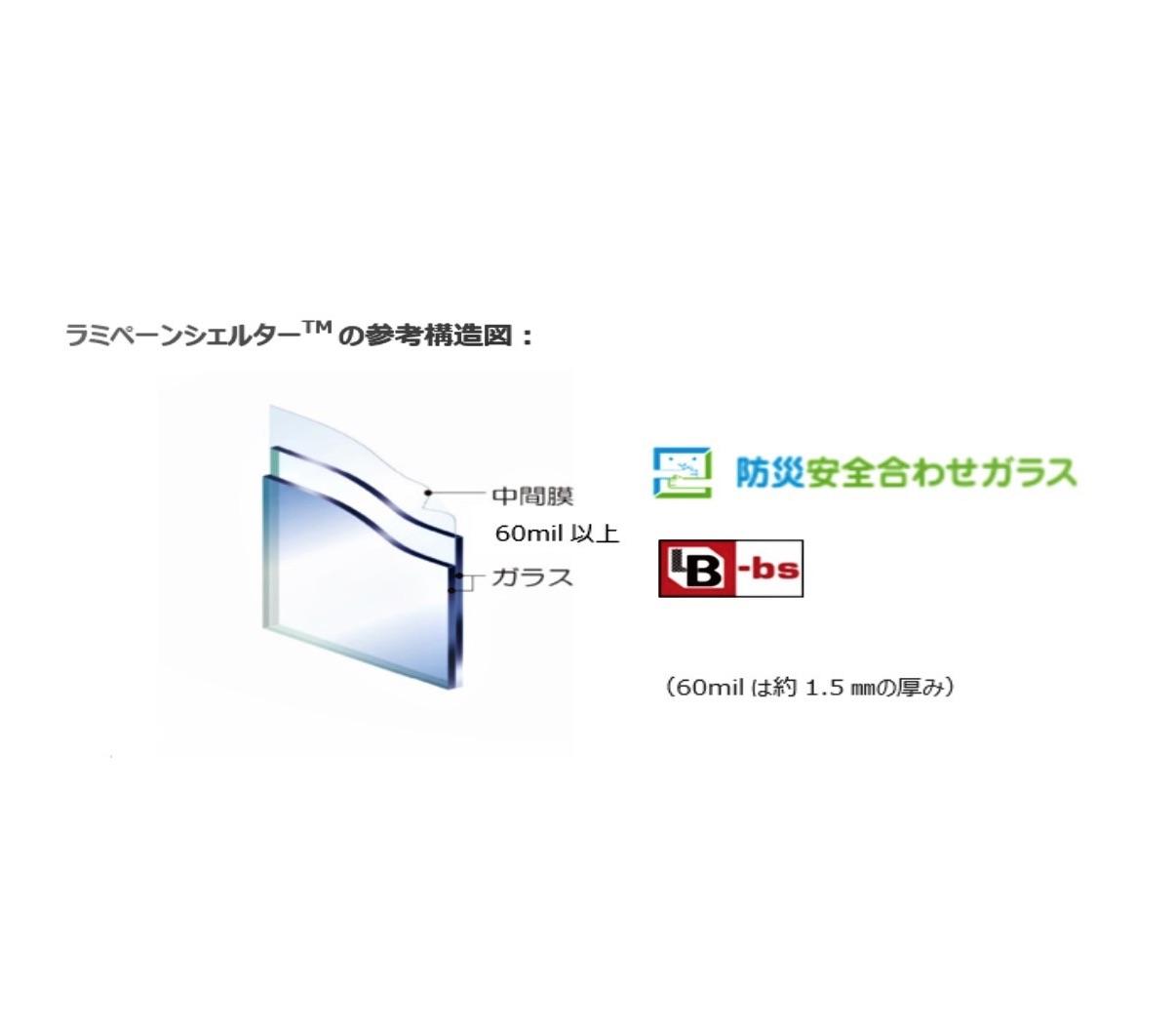 日本板硝子、台風による飛来物の貫通防ぐ合わせガラス