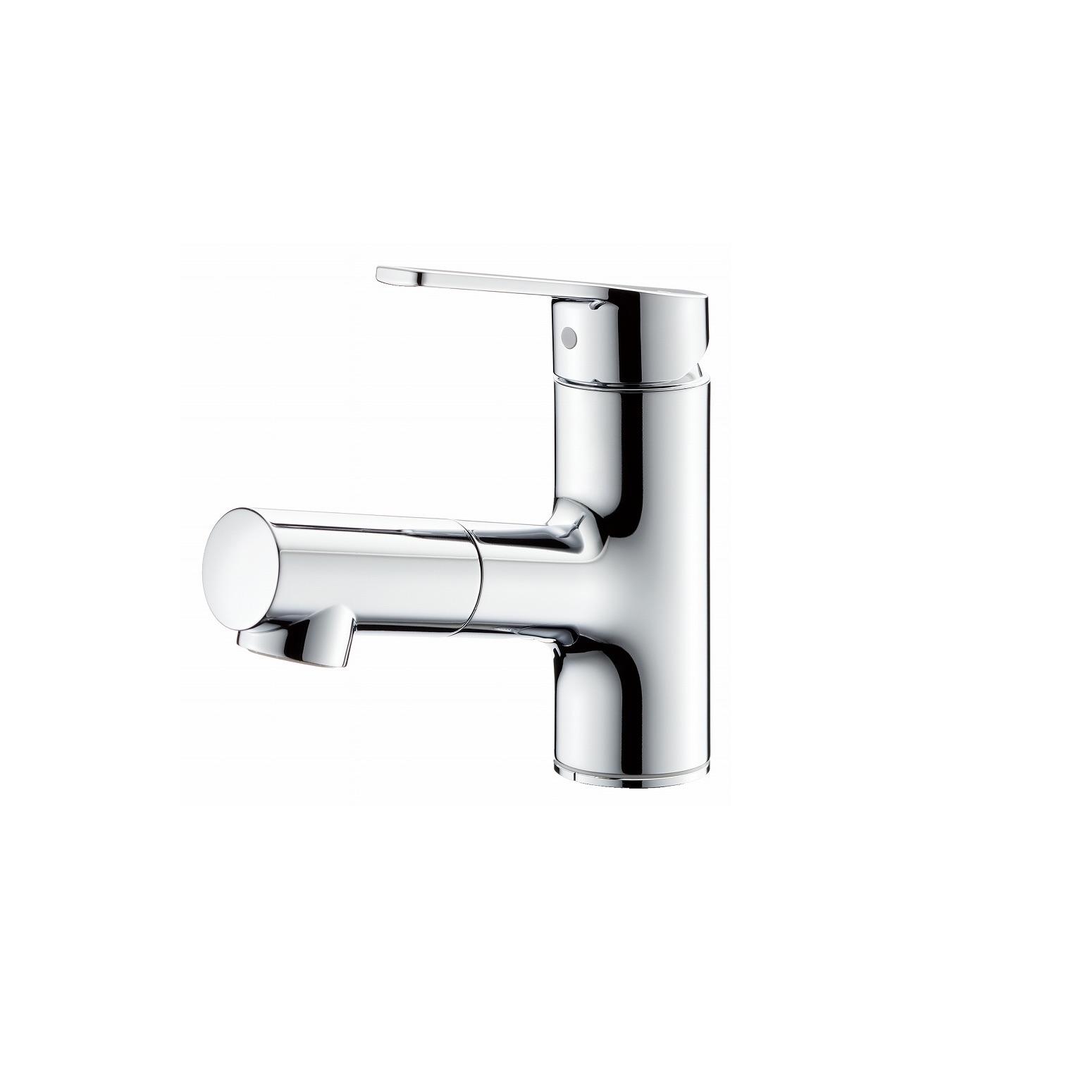 タカギ、洗浄力3.5倍の洗面用水栓を発売