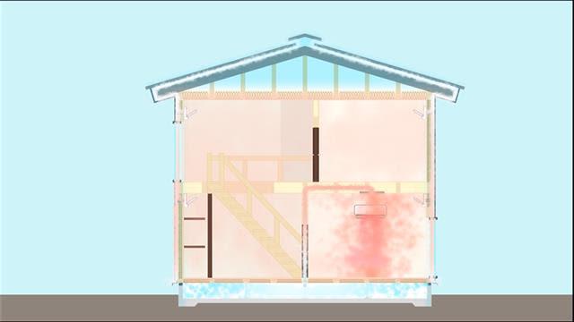 住宅検査、ホームリサーチ 空気対流断熱工法を提案 エアコン冷暖気で北海道 神奈川にモデルハウス