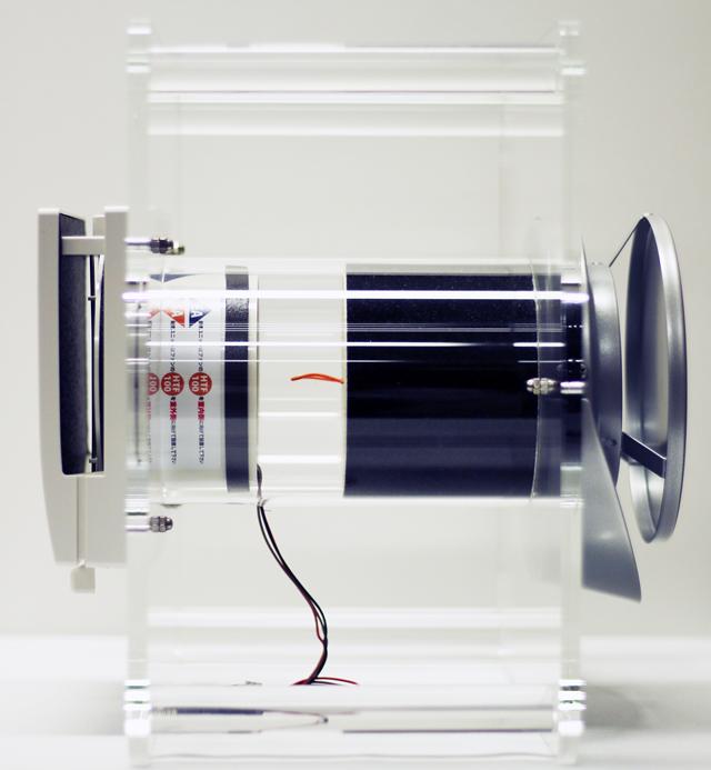 純国産・ダクトレス1種熱交換換気システムの外販開始 断面積100φのコンパクトさ特徴