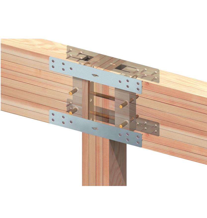 BXカネシン、非住宅木造の耐力不足補う短ざく金物