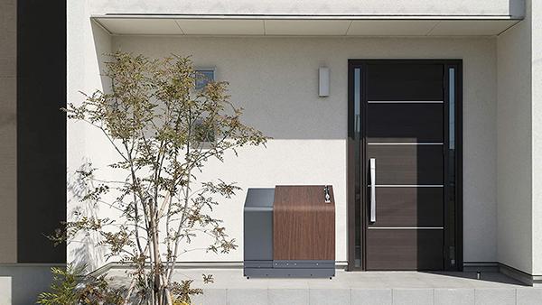 宅配ボックスにも使えるスライド式ステンレス製収納発売-ナカノ