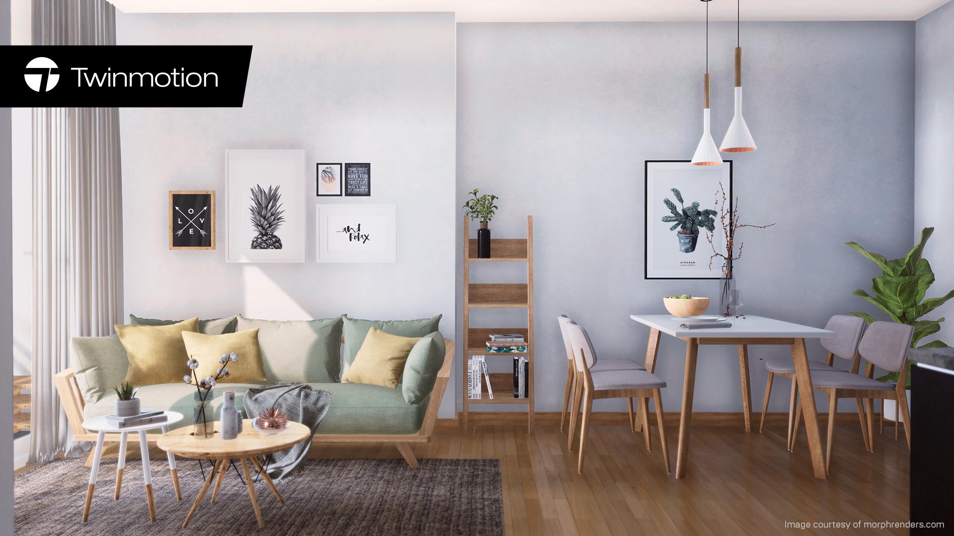 建築ビジュアライゼーションソフト「Twinmotion」最新リビジョンを公開