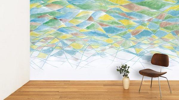 壁紙「WhO」、八ヶ岳北杜の創作型ツーリズムから生まれた新柄発売
