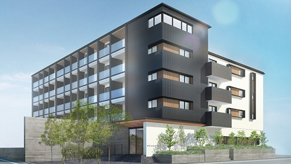木造の中層マンションを普及 壁倍率30倍、高強度耐力壁を導入し着工 -三井ホーム