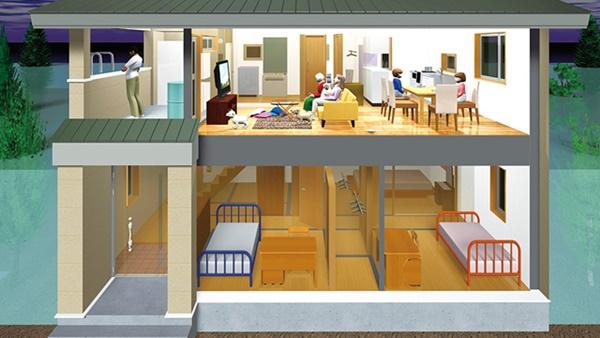 3mの水圧に耐える「水害に強い家」 モデルプラン発表 -ミツヤジーホーム [長野県長野市]