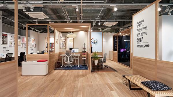 ハーマンミラー、ホームオフィス専門体験型ストアを東京・青山にオープン