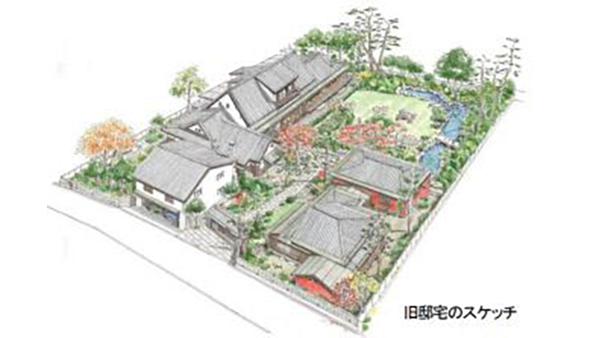 昭和初期の農園別荘跡地を開発 練馬区に格調高さ継承した分譲地-中央住宅
