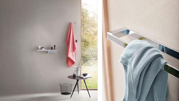 セラトレーディング、シャープな印象の洗面アクセサリー発売
