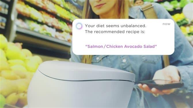 「食事が偏っています」トイレが健康アドバイス TOTO、AI活用し開発へ