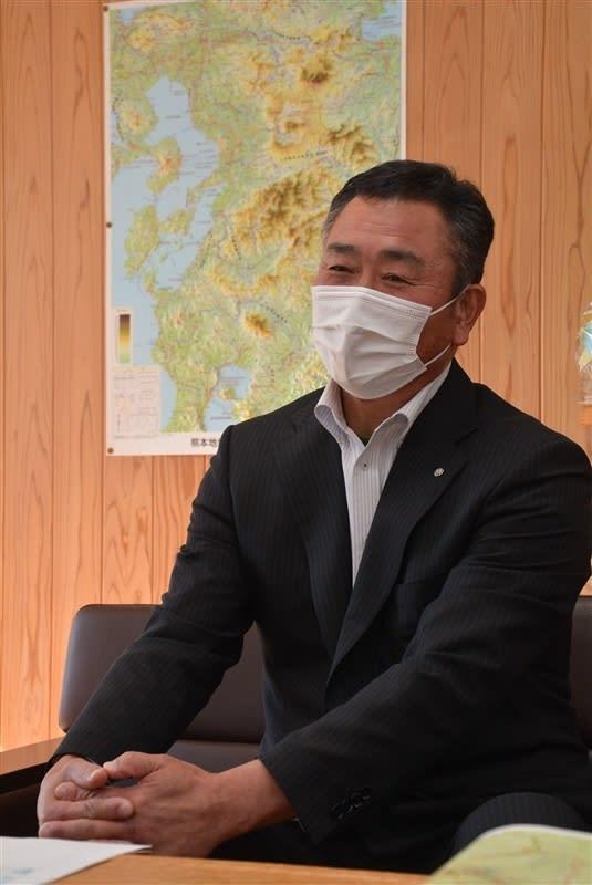 住民意向踏まえ住宅再建 球磨村・松谷浩一村長インタビュー